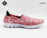 Hot Sale Kids and Adult Weave Leisure Walking Shoes