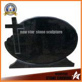 Cheap Black Granite Tombstone Memorial Sculpture