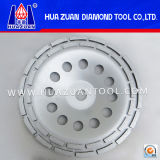 Huazuan 4-7 Inch Double Row Cup Grinding Disc