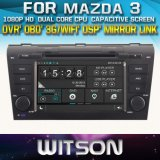 Witson Car DVD Player for Mazda 3 2004-2009 (W2-D8603M) with Chipset 1080P 8g ROM WiFi 3G Internet DVR Support