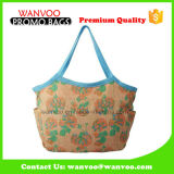 Advertising Promotional Handle Shopping Jute Beach Bag