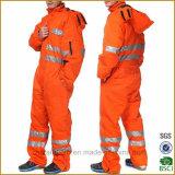 High Visibility Good Quality Wholesale OEM Winter Safety Jacket Workwear
