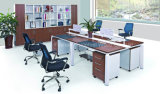 Modern Office Employee Workstation of Modual Linear Office Table (HF-E550)