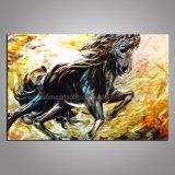 Galloping Horse Metal Wall Art / Painting on Aluminum Board