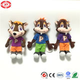 Cartoon Figure Famous Doll Squirrel Nice Printed Stuffed Children Toy