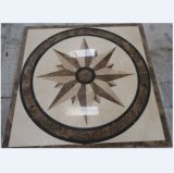 Natural Marble Floor Medallion/Marble Waterjet/Marble Pattern-QS