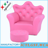 Crown Silk Printing Children Furniture and Stool Chair (SXBB-17)