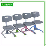 Ergonomic Height Adjustable Student Plastic Chair Table and Chair