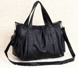 Hot Simple Leisure Lady Leather Handbag (XP563)