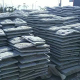 Grey Granite Mushroom Kerbstone Garden Stone and Paving Stone