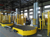 Auto Stretch Film Wrapping Machine with Top Sheet Dispenser