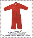 All in One Body Workwear Uniform Overall with Zipper