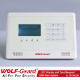 Adopt 433/868MHz Burglar Alarm with Touch Keypad SMS LCD Display Larm System