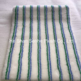Blue and Green Paint Roller Fabric