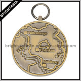 Popular High Quality Medal with Antique Brass (BYH-101047)
