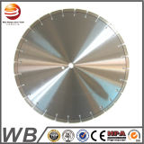 Laser Welded Diamond Saw Blade for Concrete with Metal Bar