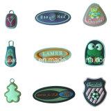 Various Patterns 3D Soft PVC Rubber Bag Label
