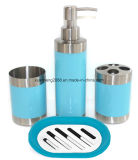 Stainless Steel Hand Bath Foam Dispenser Bottle Set