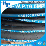 ISO Certificate Hydraulic Rubber Hose 2sn/R2at for Oil Industry