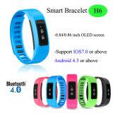 IP56 Waterproof Bluetooth Smart Bracelet with OLED Display (H6)