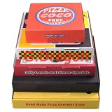 White Exterior and Natural/Kraft Interior Pizza Box (GD445)