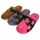 Fashion Women&Lady Winter Slippers/Shoes /Footwear Colorful Indoor Slippers (OCD-17)
