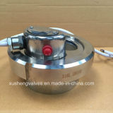 Dn100 Stainless Steel SUS304 Tank Lamp Union Type Sight Glass