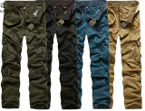 Men's Fashion Military Camouflage Casual Cargo Long Pants (143)
