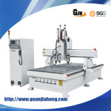 Simple Auto-Tool Changing, Multi-Workstage 325, Engraving/ Milling Wood CNC Router