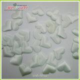 White Fabric Soft 3D Heart Shape Confetti Wedding Decoration