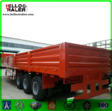 900mm Side Wall Flatbed Trailer with 12PCS Container Locks