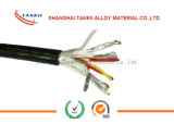 KX thermocouple wire 2*1.5sqm with PVC insulation and Almylar Shield with Drain Wire