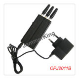 GSM900/1800/2100 Cell Phone Jammer; Mini Handheld Mobile Signal Jammer; GSM900+1800+Gpsl1 Jammer for Europe Market