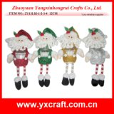 Christmas Decoration (ZY13L02-1-2-3-4 32CM) Handmade Decoration Greeting Card Candy Jar