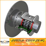 High Quality Large Transmission Torque with Brake Plate Grid Coupling
