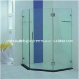 Large Bathroom Glass Door
