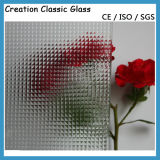 3.2mm, 4mm Ultra Clear Glass/Clear Patterned Glass