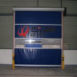 Aluminum Door Frame Rolling Shutters Interior PVC Plastic Rolling Door