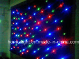 Hot Sale 3*6m Mix Full Colors LED Star Curtain / LED Star Cloth / Stage Backdrop Show RGBW