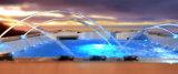 White Acrylic Balboa Hot Tub with 2 Loungers