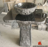 Black Granite Vanity Top with Shanxi Black Basin
