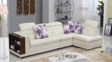 Living Room Furniture Leather Sofa Set (Yj6829)