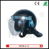 Large Curved Lens Anti-Riot Helmets (MTK-C-2)