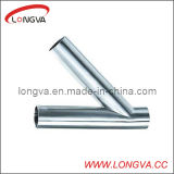 Stainless Steel Butt Weld Y-Type Tee Pipe Fitting