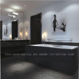 600*600mm Full Body Rustic Tile Semi Polished Black (6TF097-6TF102)