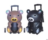 12inch Colorful Professional Hifi Audio Trolley Speaker Teddy Bear