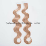 Best Quality Full Cuticle European Remy Body Wave Tape in Human Hair Extensions
