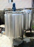 Milk Cooling & Heating Mixing Tank (Agitator)