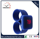 Fashion Wristwatch Silicone Watches LED Slap Wrist Watch (DC-944)