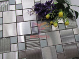 Metal Mix Glass Mosaic Tile (CFM1013)